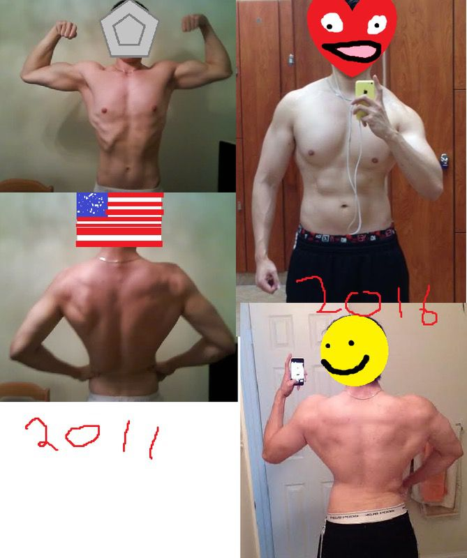 6 feet 1 Male 36 lbs Weight Gain Before and After 159 lbs to 195 lbs