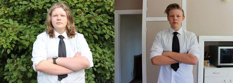 5'10 Male Progress Pics of 60 lbs Fat Loss 236 lbs to 176 lbs