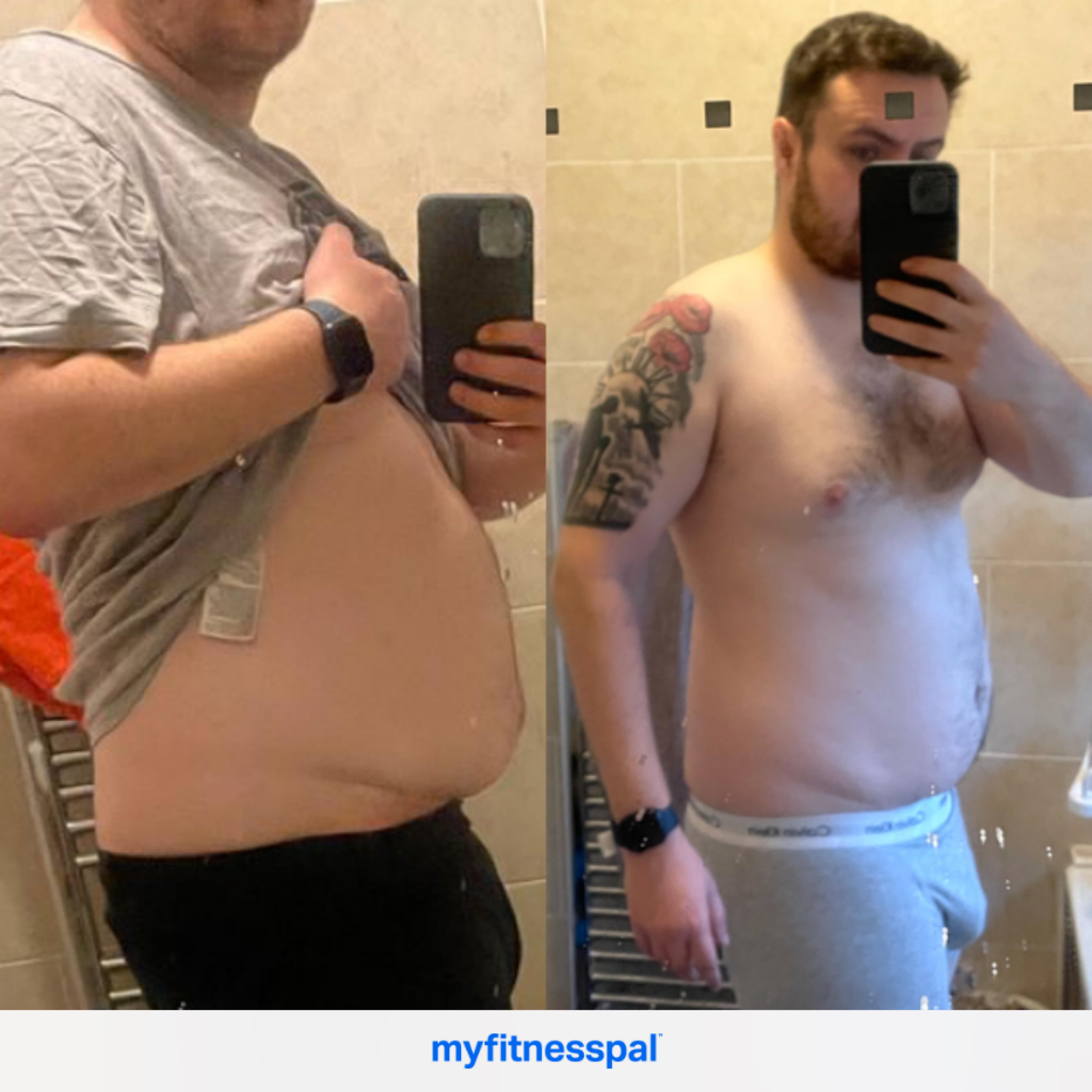 6 foot 1 Male Progress Pics of 5 lbs Fat Loss 230 lbs to 225 lbs