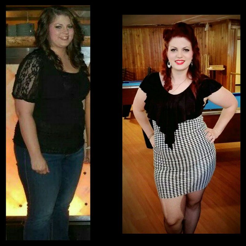 5 foot 4 Female Before and After 32 lbs Weight Loss 210 lbs to 178 lbs