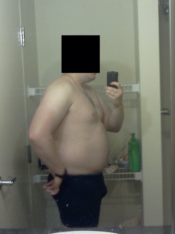 4 Photos of a 5'11 244 lbs Male Fitness Inspo