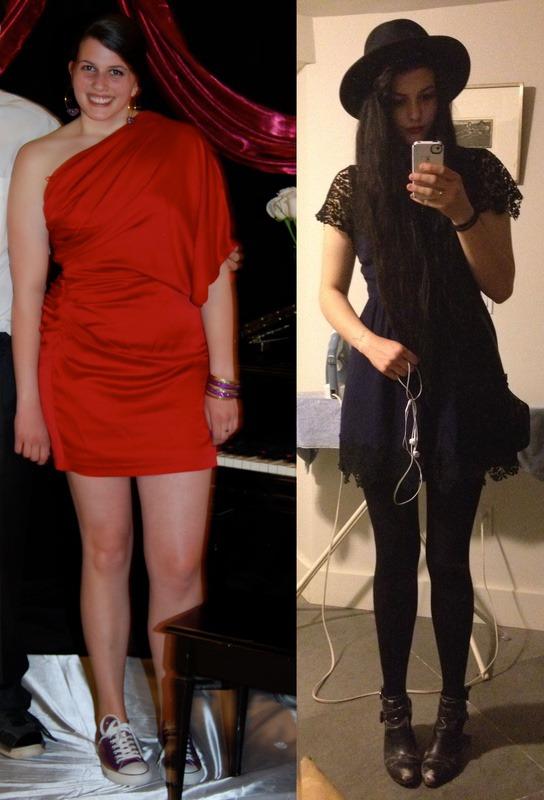 Progress Pics of 40 lbs Weight Loss 6 foot 1 Female 195 lbs to 155 lbs