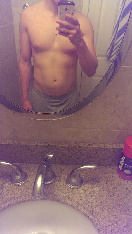 2 Pics of a 5 foot 7 153 lbs Male Fitness Inspo