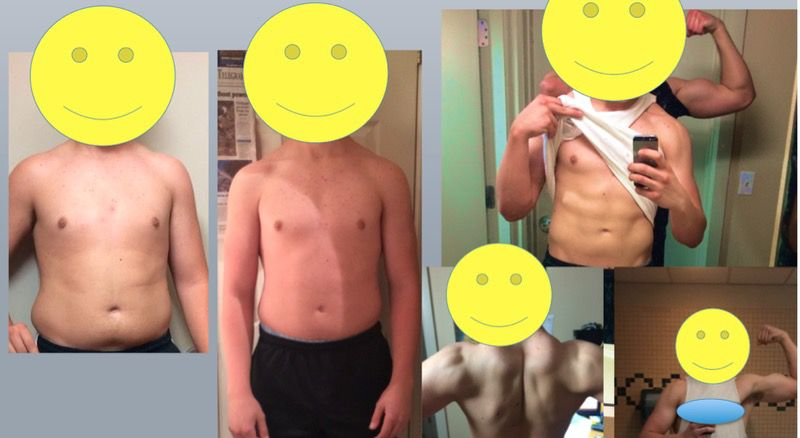 6 feet 2 Male Before and After 44 lbs Weight Loss 239 lbs to 195 lbs