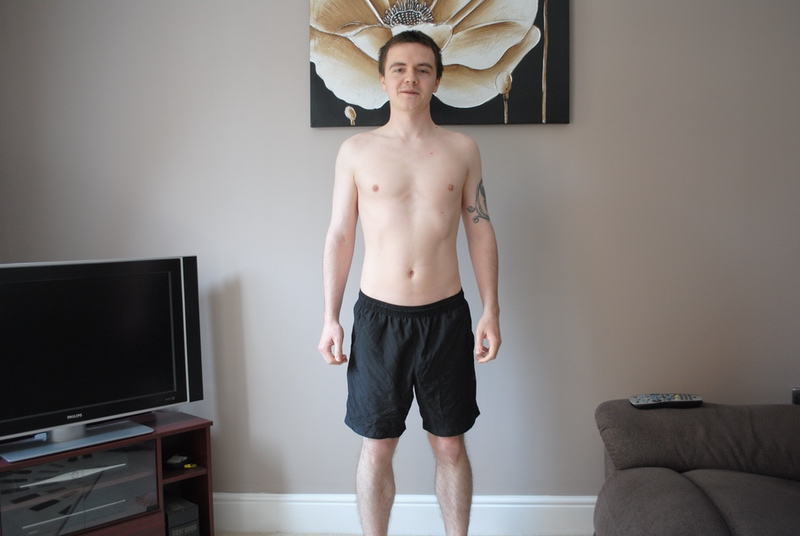 5 feet 7 Male 47 lbs Fat Loss Before and After 154 lbs to 107 lbs