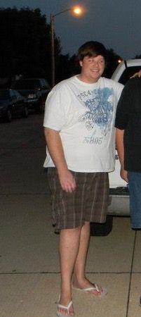83 lbs Weight Loss 6'4 Male 330 lbs to 247 lbs