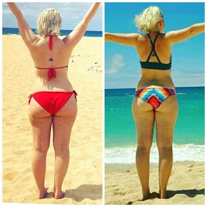 Progress Pics of 9 lbs Fat Loss 5 foot 2 Female 144 lbs to 135 lbs
