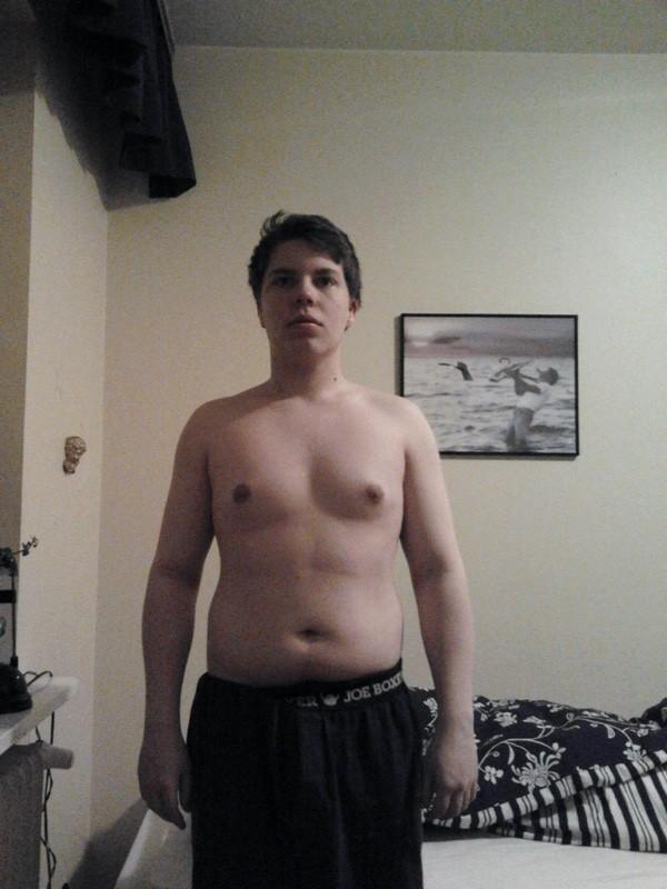 5 foot 4 Male 30 lbs Weight Loss 154 lbs to 124 lbs