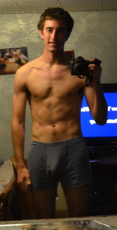 24 Pics of a 6 foot 162 lbs Male Weight Snapshot