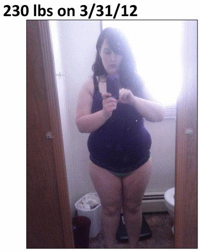 Progress Pics of 117 lbs Weight Loss 5 foot 5 Female 250 lbs to 133 lbs