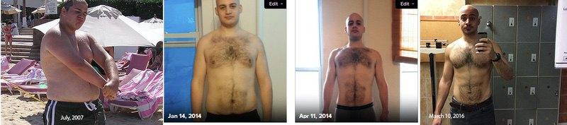 6 foot 1 Male 100 lbs Fat Loss 283 lbs to 183 lbs