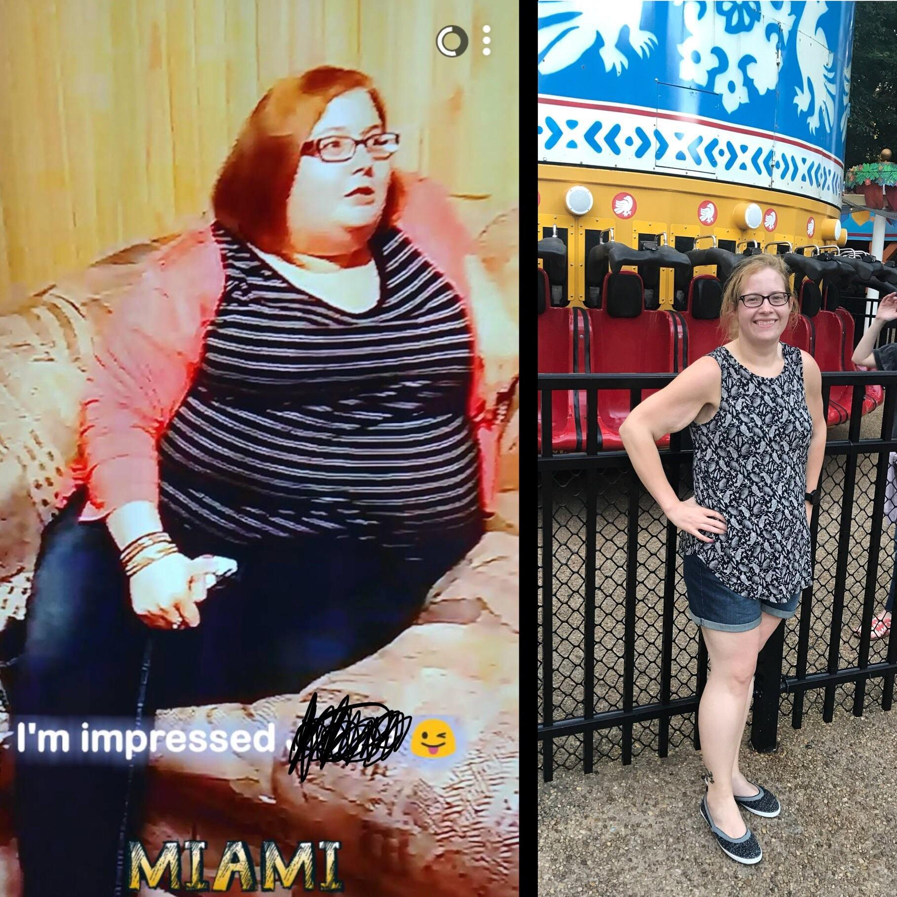 5 feet 3 Female Progress Pics of 172 lbs Weight Loss 322 lbs to 150 lbs