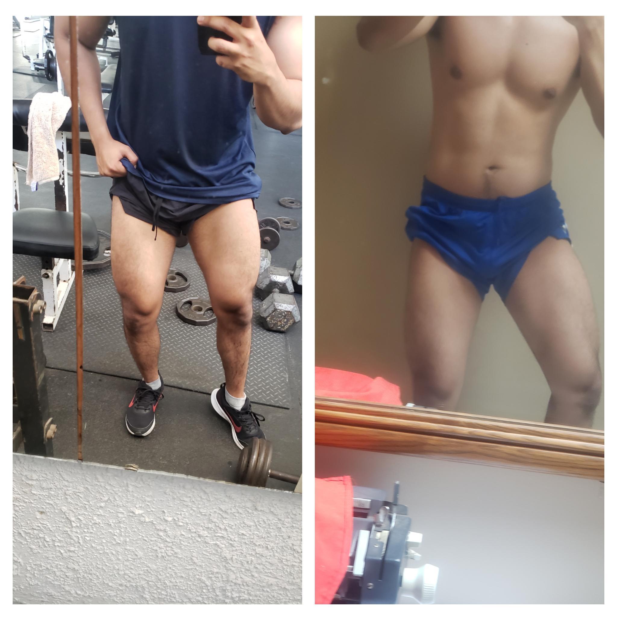 20 lbs Weight Gain 5 feet 11 Male 170 lbs to 190 lbs