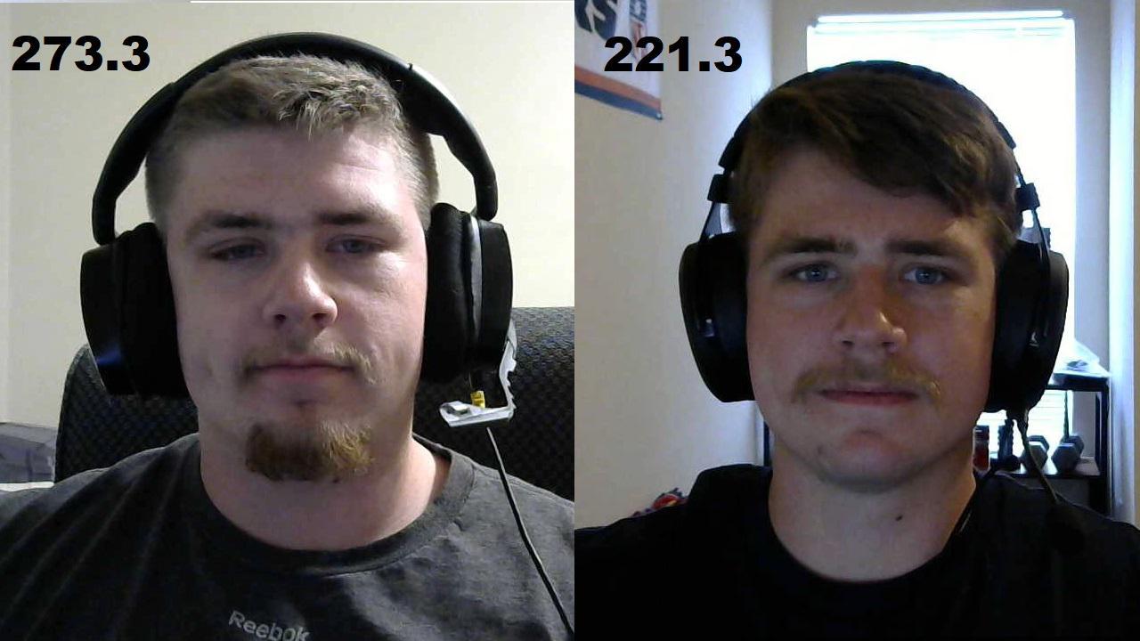 Progress Pics of 52 lbs Weight Loss 5'11 Male 273 lbs to 221 lbs