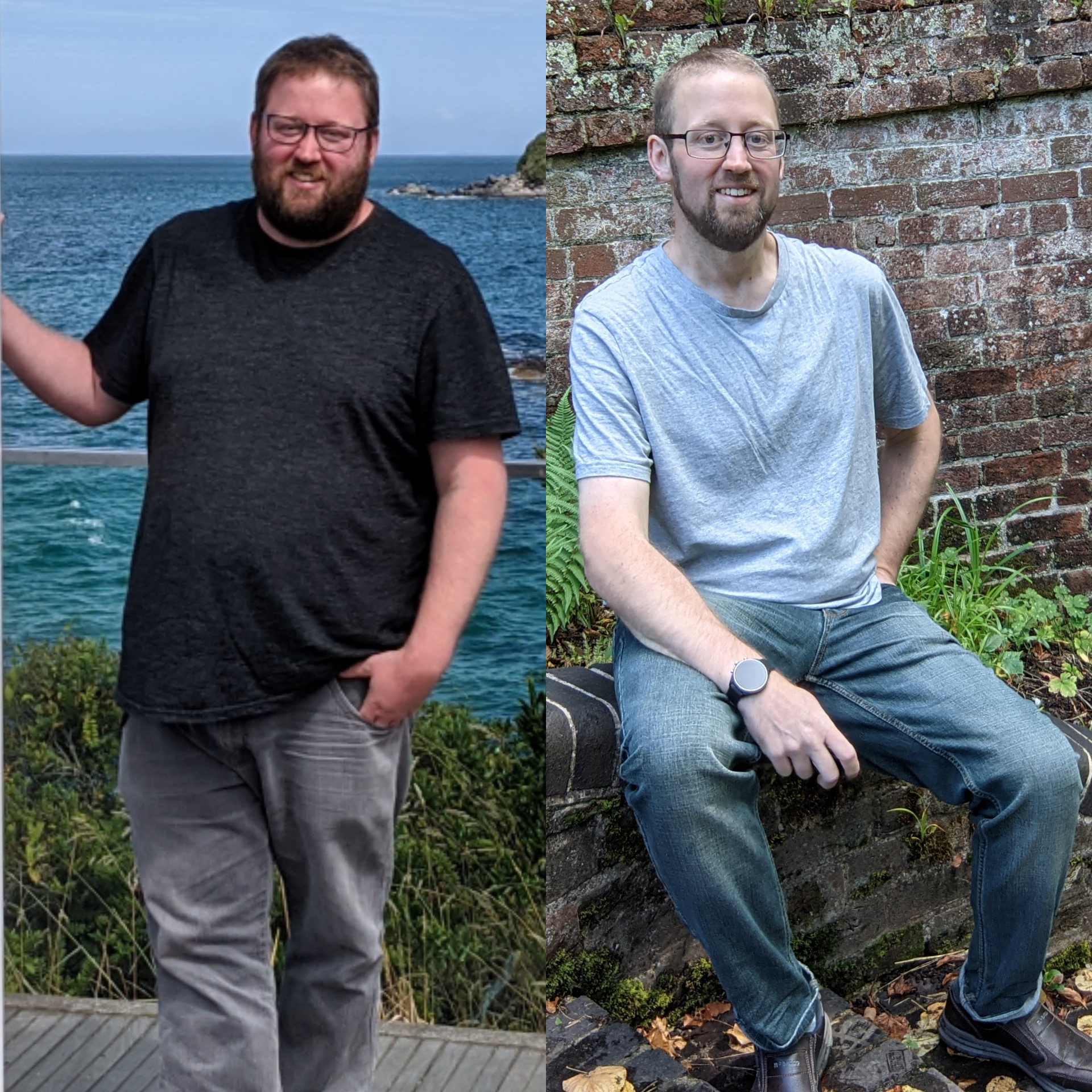 6 foot Male 118 lbs Weight Loss Before and After 305 lbs to 187 lbs