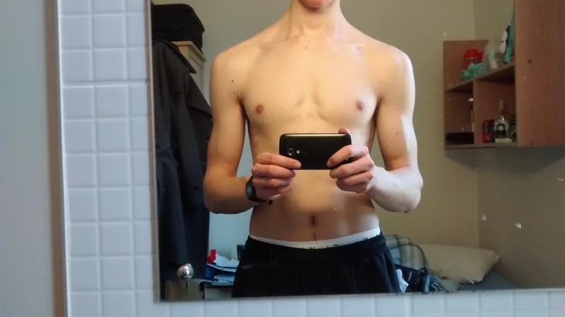 6'3 Male 9 lbs Weight Gain 143 lbs to 152 lbs