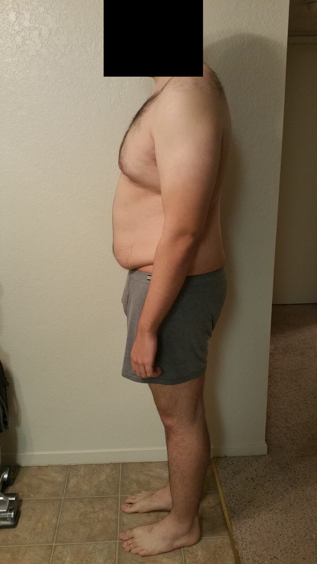 3 Pictures of a 243 lbs 6 feet 1 Male Weight Snapshot