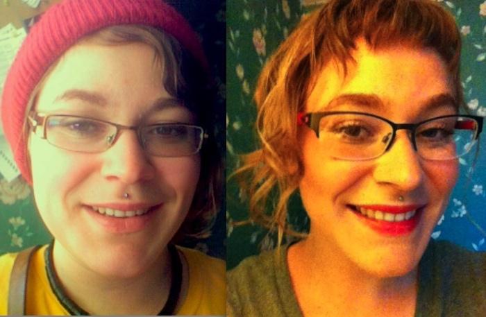 Progress Pics of 13 lbs Fat Loss 5 feet 7 Female 175 lbs to 162 lbs