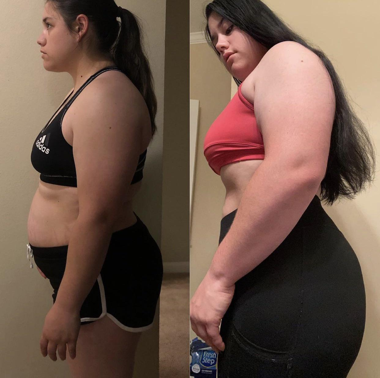 5 feet 4 Female Progress Pics of 30 lbs Weight Loss 190 lbs to 160 lbs