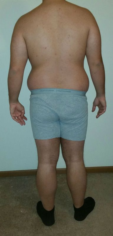 3 Pics of a 5 foot 6 211 lbs Male Weight Snapshot