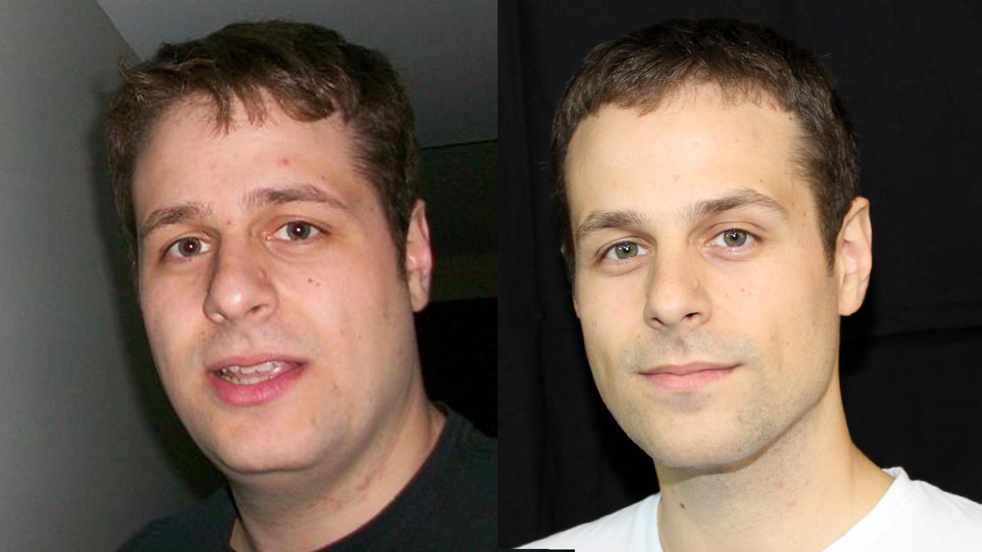 Progress Pics of 60 lbs Weight Loss 5'9 Male 235 lbs to 175 lbs