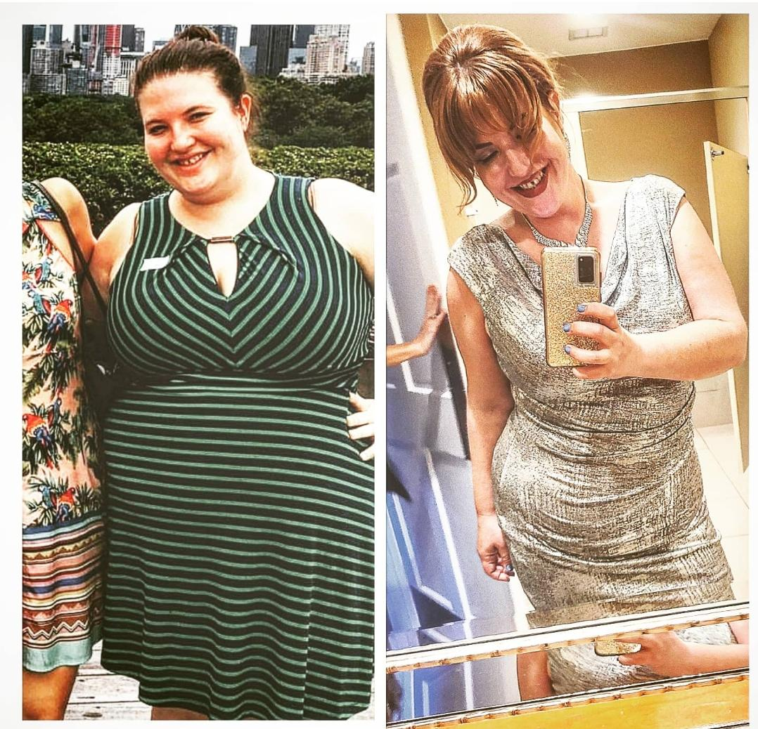 77 lbs Weight Loss 5 foot 5 Female 258 lbs to 181 lbs