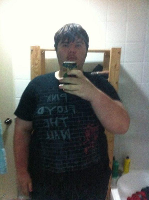 Progress Pics of 95 lbs Fat Loss 6 foot 1 Male 370 lbs to 275 lbs