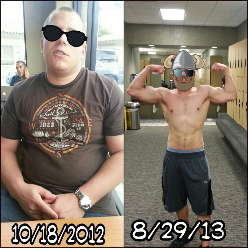 5 foot 8 Male Progress Pics of 50 lbs Weight Loss 230 lbs to 180 lbs
