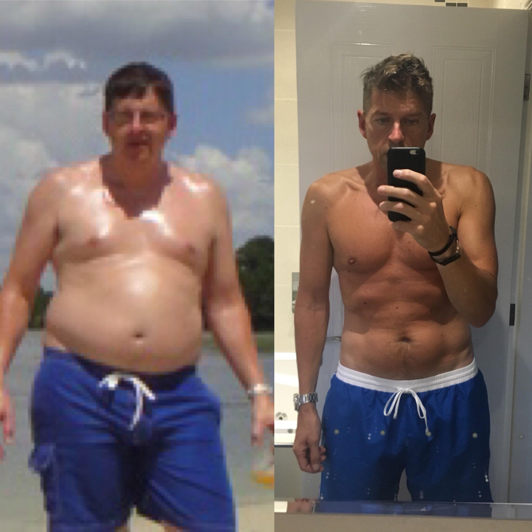 5 foot 11 Male 60 lbs Fat Loss 245 lbs to 185 lbs