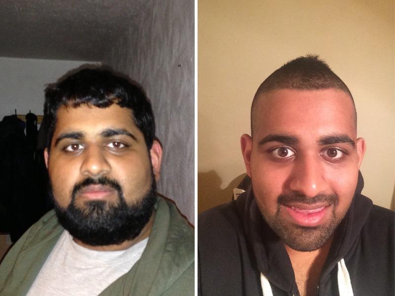 Progress Pics of 70 lbs Weight Loss 5'9 Male 273 lbs to 203 lbs