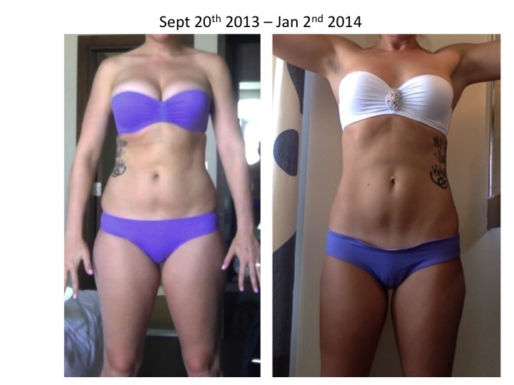 5 feet 10 Female Before and After 23 lbs Fat Loss 175 lbs to 152 lbs