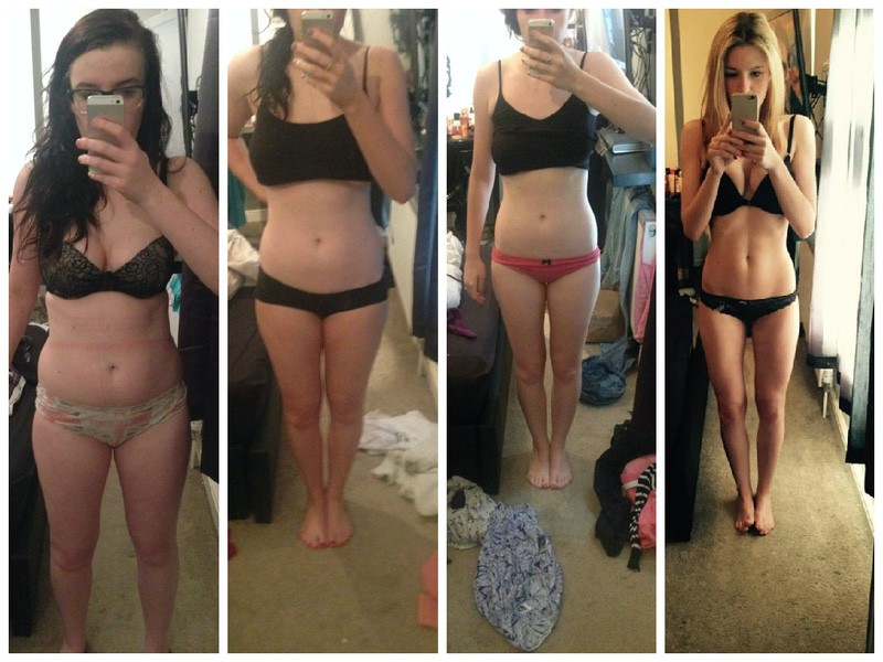 5 foot 8 Female Before and After 15 lbs Fat Loss 160 lbs to 145 lbs