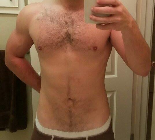 2 Pictures of a 167 lbs 5'11 Male Weight Snapshot