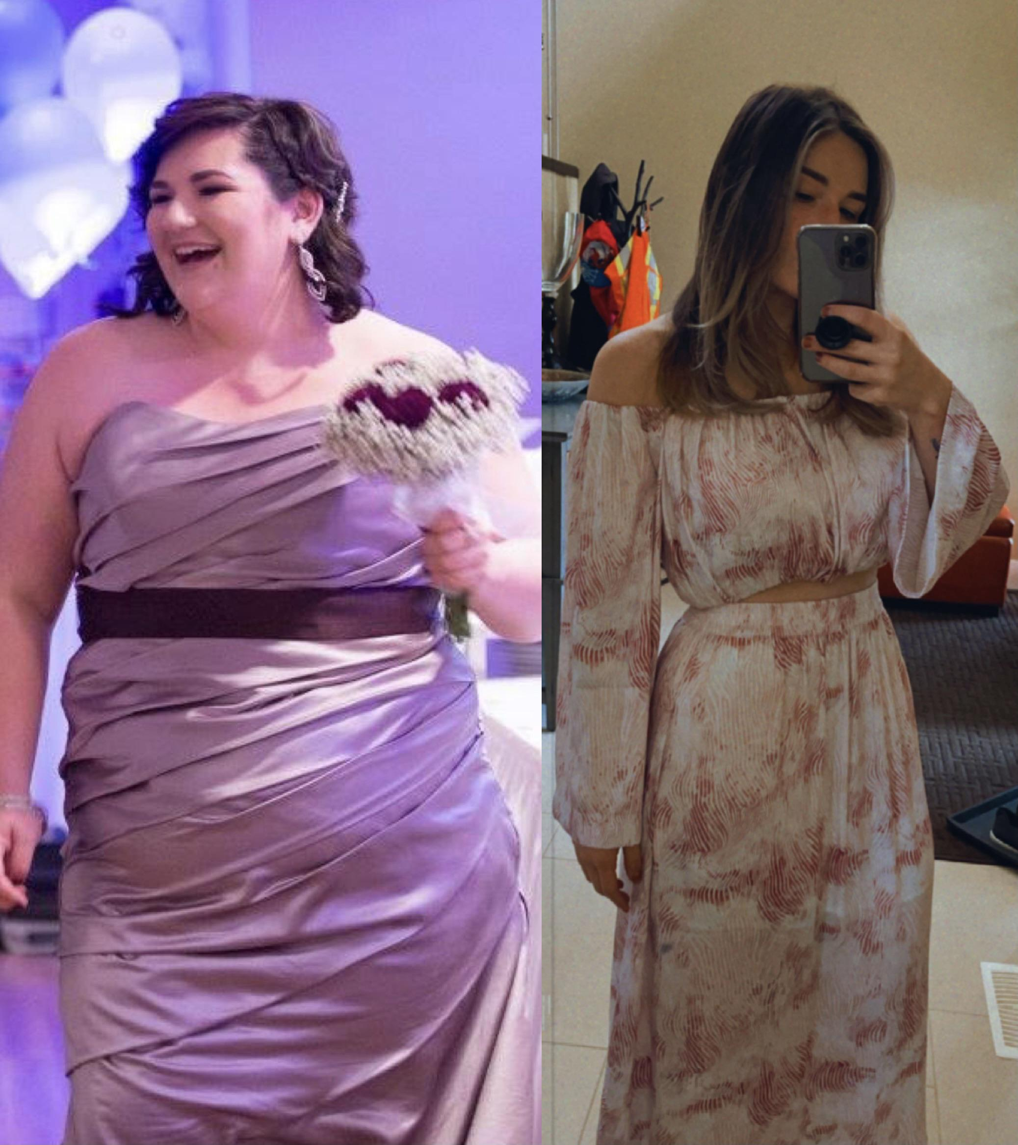 5 foot 6 Female 101 lbs Weight Loss 286 lbs to 185 lbs