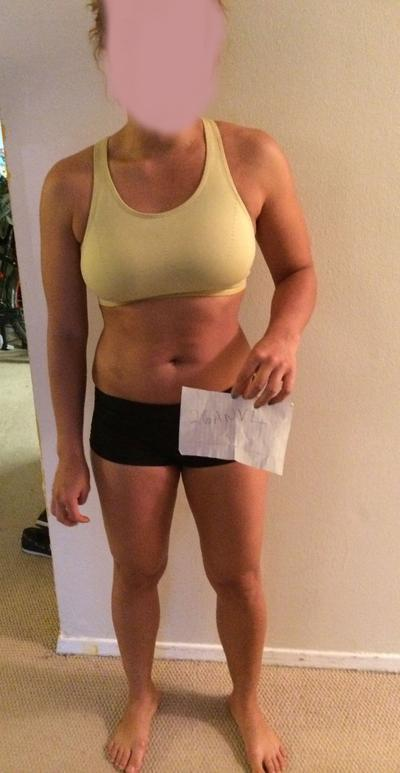 5 feet 2 Female 9 lbs Weight Loss Before and After 130 lbs to 121 lbs