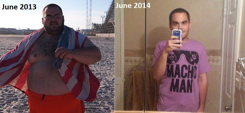 5 foot 9 Male 181 lbs Fat Loss Before and After 384 lbs to 203 lbs