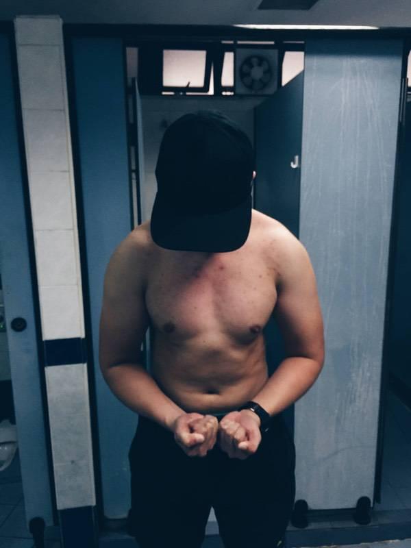 5 feet 7 Male 33 lbs Weight Gain 128 lbs to 161 lbs