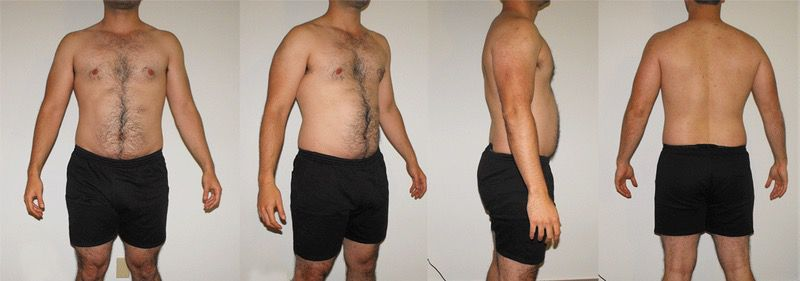2 Pics of a 6 feet 1 218 lbs Male Fitness Inspo