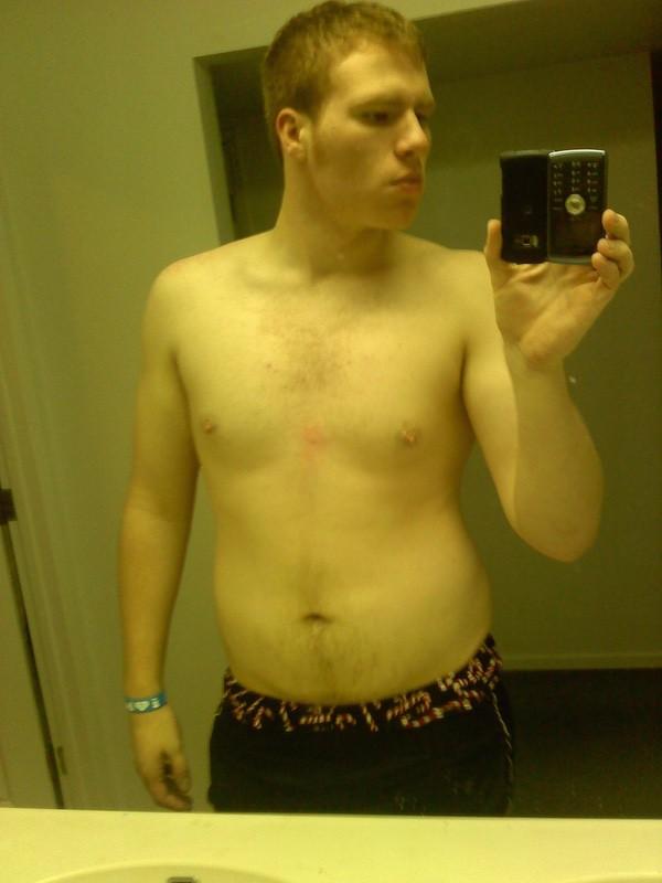 40 lbs Fat Loss 6'5 Male 250 lbs to 210 lbs