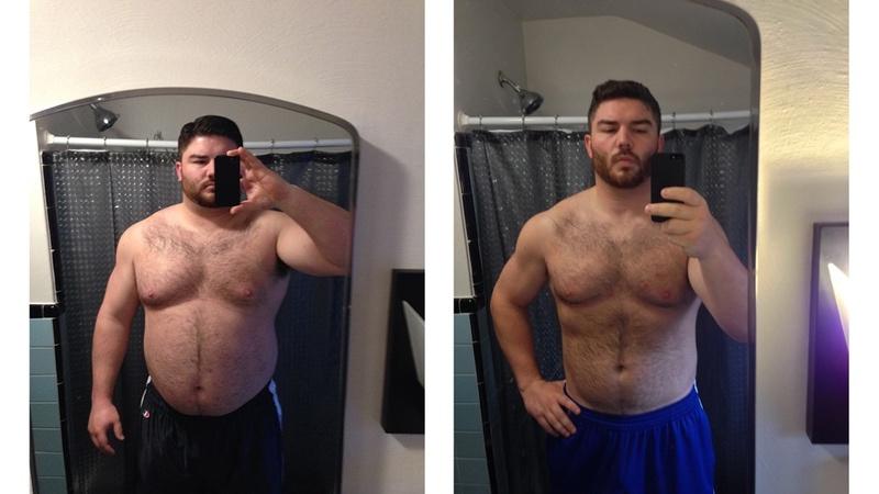 6'1 Male 76 lbs Fat Loss 335 lbs to 259 lbs