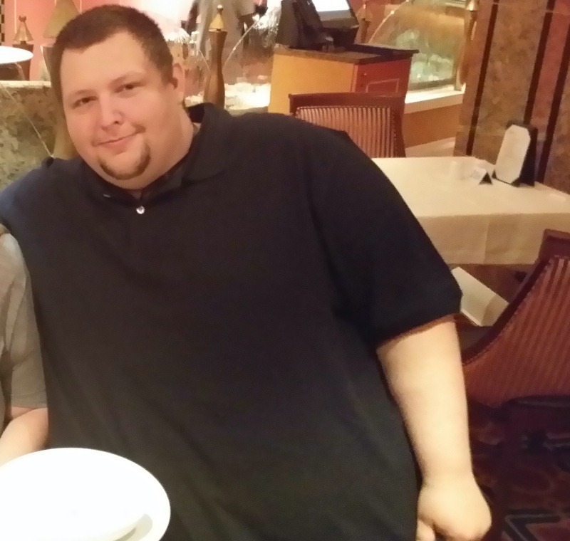 85 lbs Fat Loss Before and After 6 feet 1 Male 500 lbs to 415 lbs