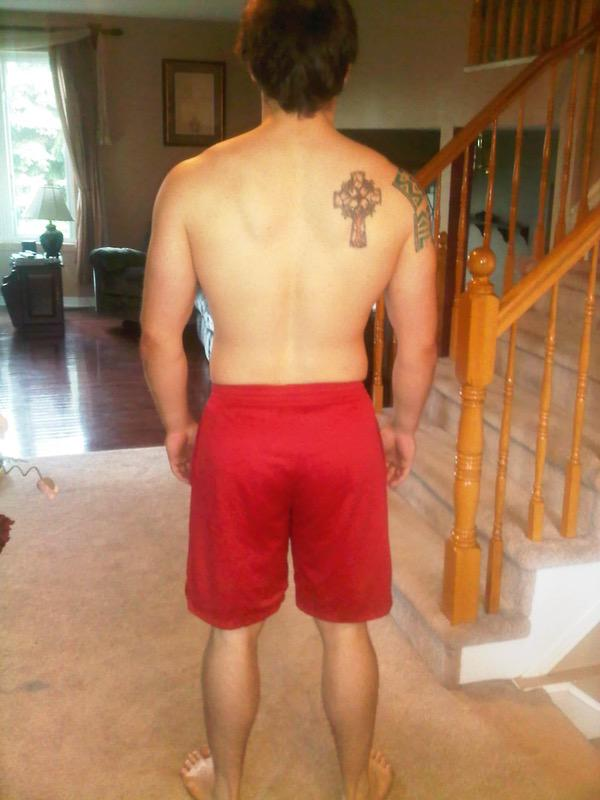 5 Photos of a 5 foot 10 202 lbs Male Weight Snapshot