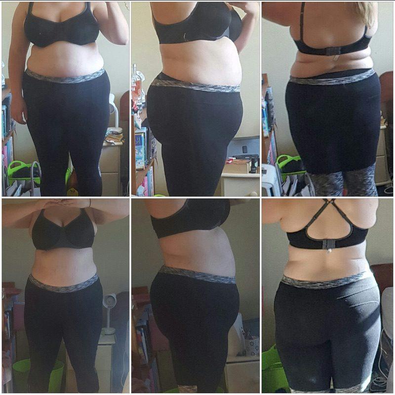 Progress Pics of 21 lbs Fat Loss 5 foot 8 Female 265 lbs to 244 lbs