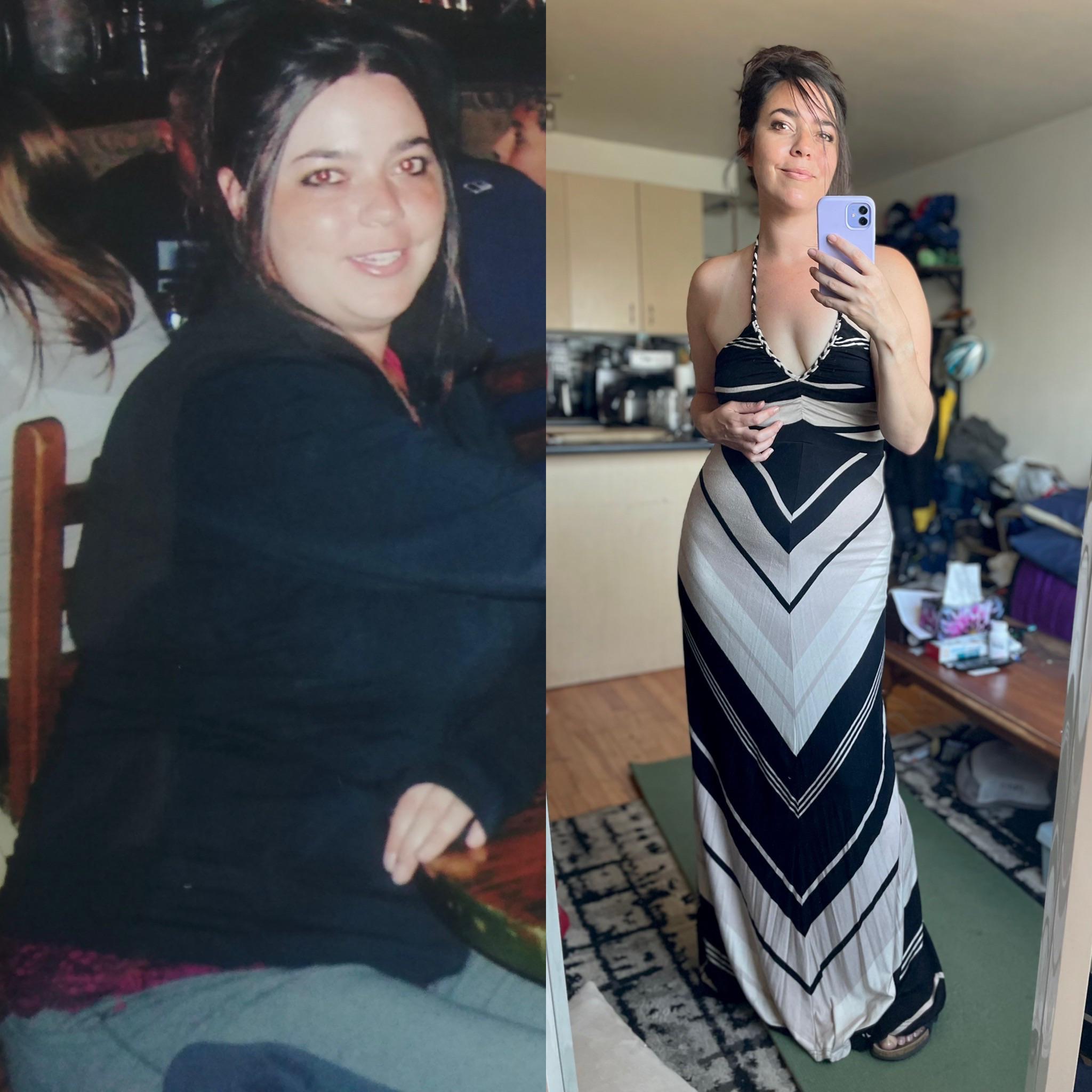 5'6 Female Progress Pics of 27 lbs Fat Loss 172 lbs to 145 lbs