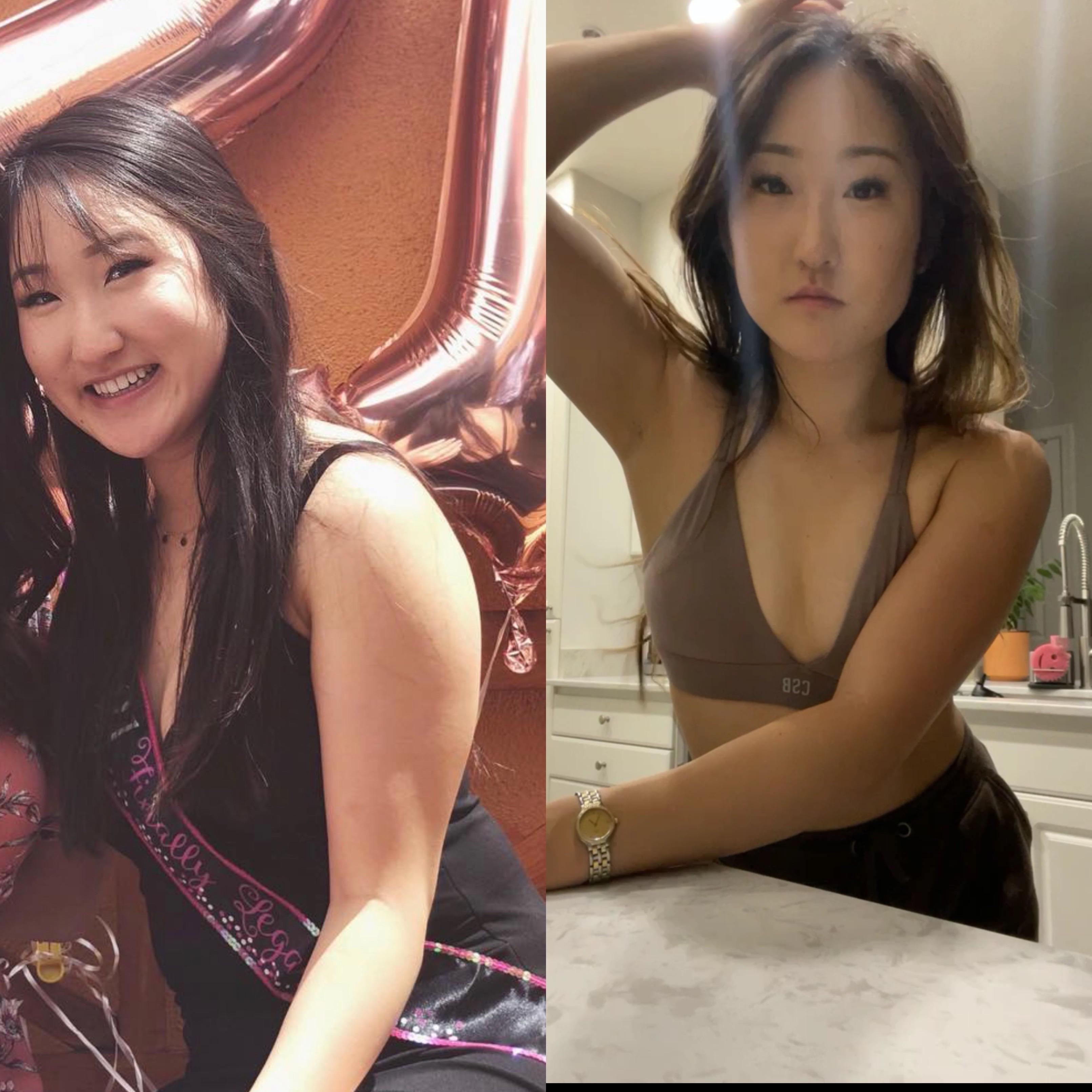 5'4 Female Progress Pics of 10 lbs Fat Loss 125 lbs to 115 lbs