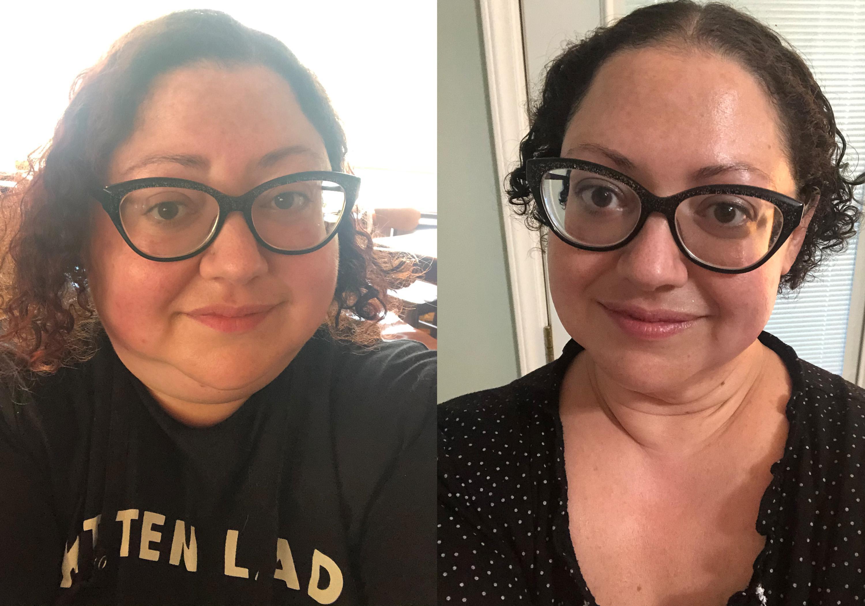 Progress Pics of 130 lbs Weight Loss 5 foot 3 Female 342 lbs to 212 lbs