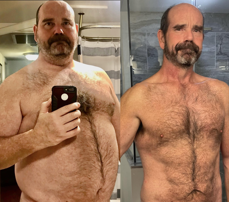 6 foot Male Progress Pics of 100 lbs Weight Loss 293 lbs to 193 lbs