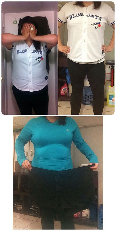 5 feet 3 Female Before and After 40 lbs Fat Loss 255 lbs to 215 lbs