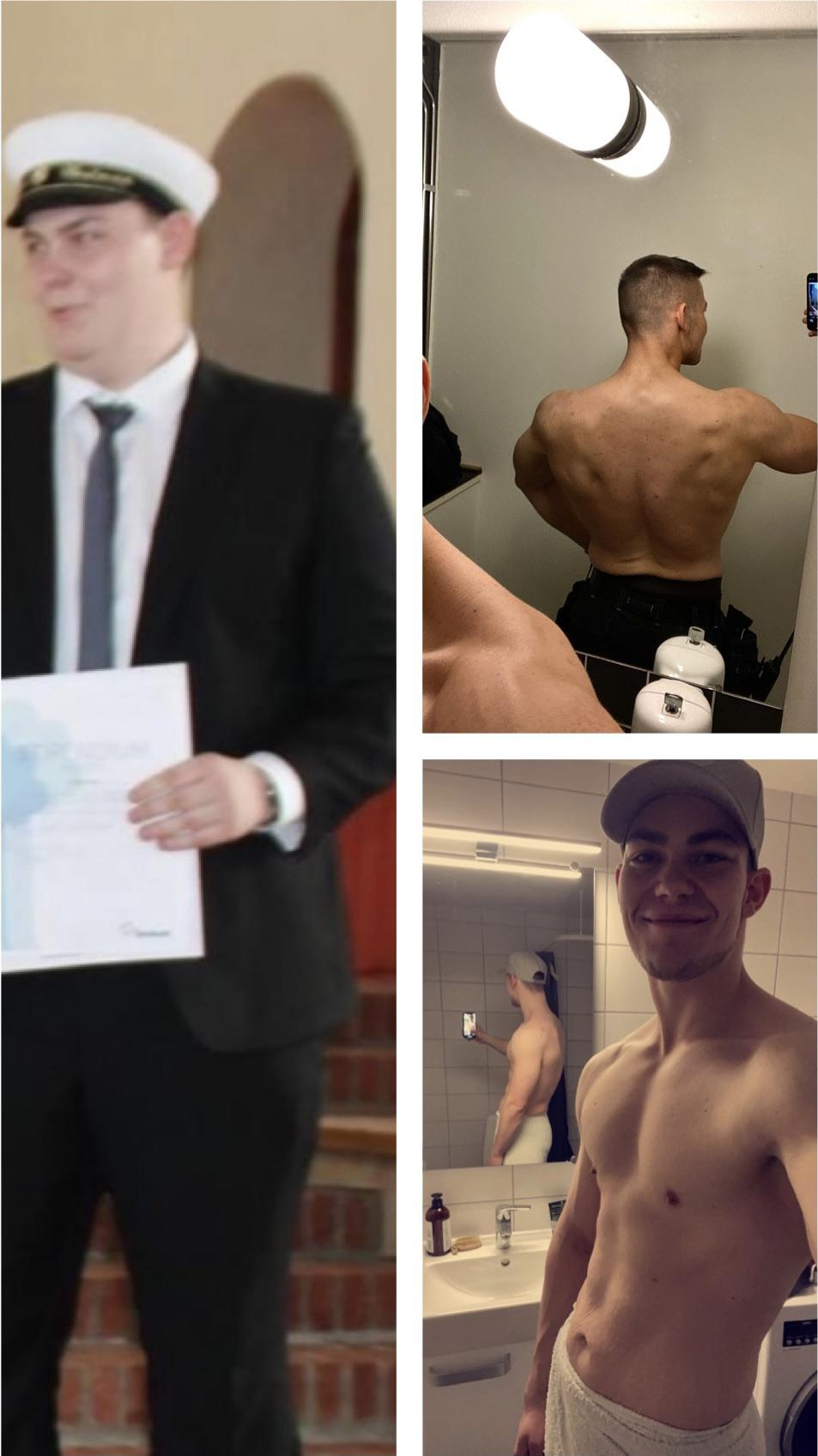 Progress Pics of 87 lbs Fat Loss 6 feet 3 Male 285 lbs to 198 lbs