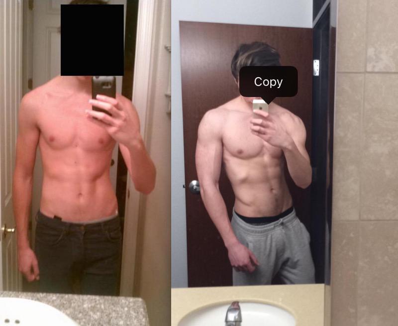 45 lbs Muscle Gain 6 foot 5 Male 140 lbs to 185 lbs
